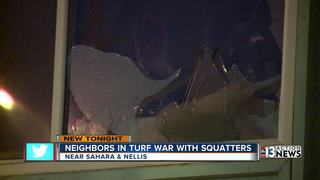 Turf war: Alleged squatters battling for home
