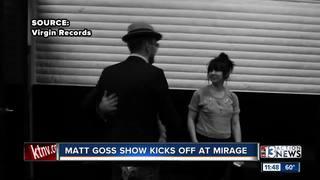 Matt Goss show kicks off at the Mirage