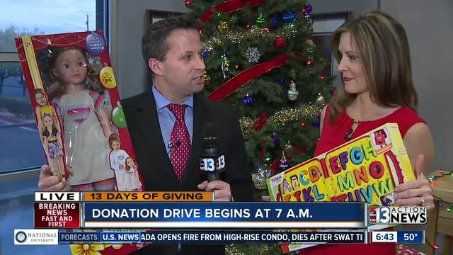 Beth and Dan talk about 13 Days of Giving