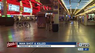 1 dead after shooting on Fremont Street