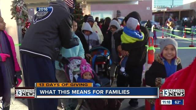 Local families grateful for donated toys