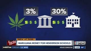 Henderson marijuana money to go to education