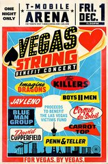 Vegas Strong Benefit Concert scheduled for Dec.1