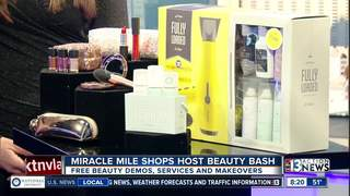 Miracle Mile Shops hosting beauty bash for free
