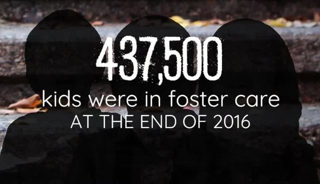 Number of kids in foster care increasing