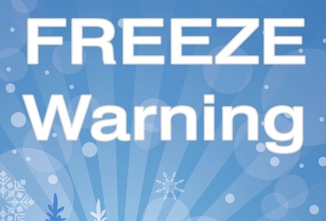 Freeze Watch For Monday Night Through Tuesday Morning