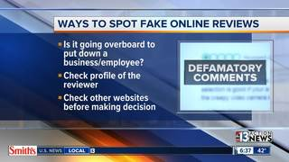 Are fake online reviews fooling you?