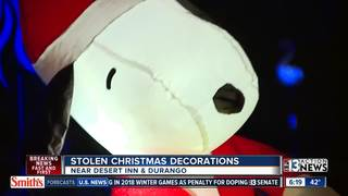 Family's Christmas inflatable stolen
