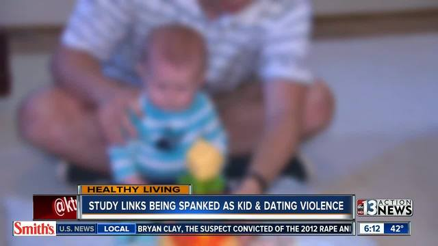 Spanking linked to dating violence