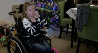 Zappos pays for little girl's custom wheelchair