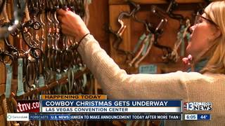 Cowboy Christmas gift show begins Thursday
