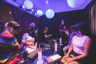 Take a neon-colored VR trip through Las Vegas