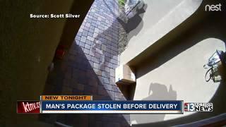 Henderson man receives empty Amazon package
