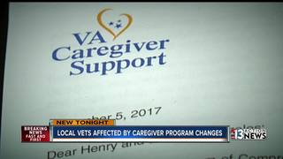 Local veterans lose access to caregiver program