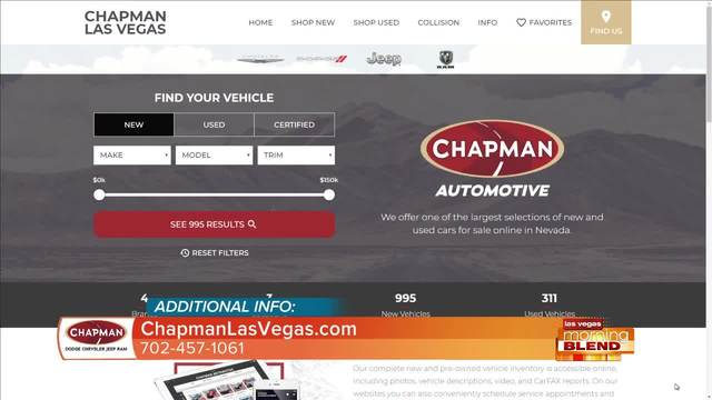 Chapman Dodge Chrysler Jeep Ram | 12/11/17