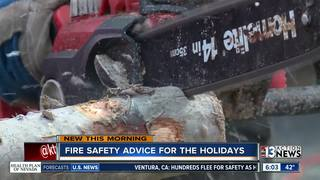 Firefighters warn of dangers with decorations