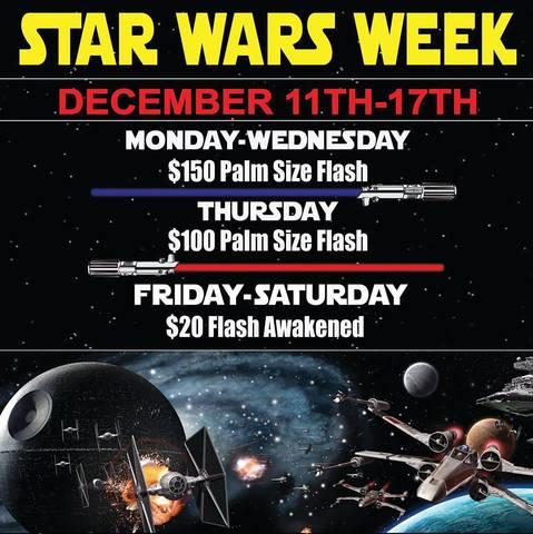 Celebrate the new 'Star Wars' movie in Vegas