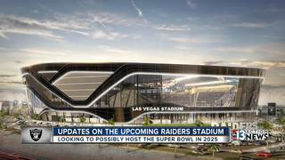 Las Vegas Stadium hopes to host 2025 Super Bowl