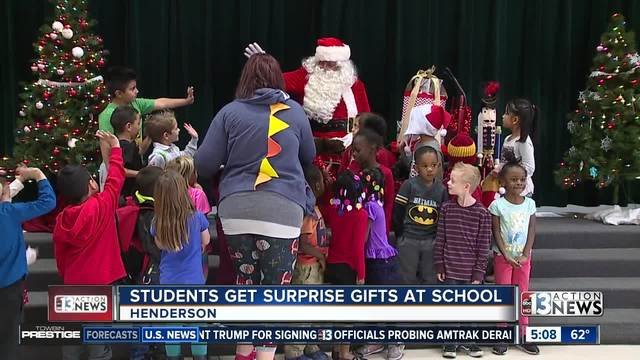 Henderson students receive early gifts