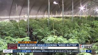 'Weed butter' explosion sends man to hospital