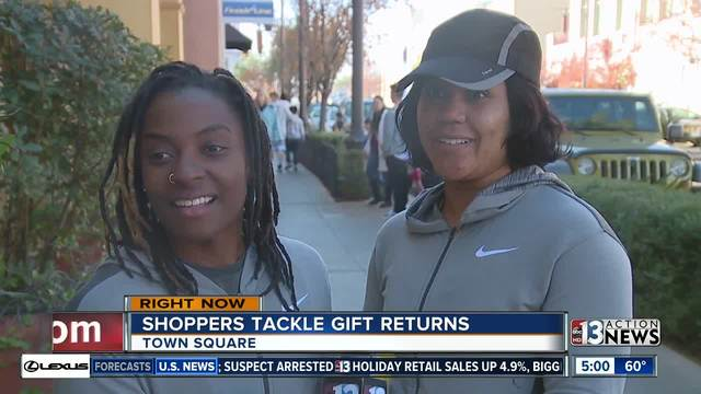 Shoppers take advantage of holiday deals day after Christmas