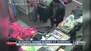 Small business owner robbed at gunpoint