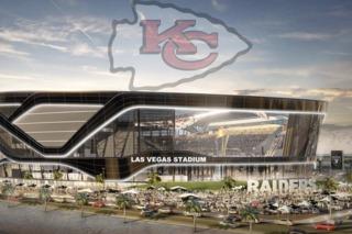 Chiefs flag allegedly buried under Vegas stadium