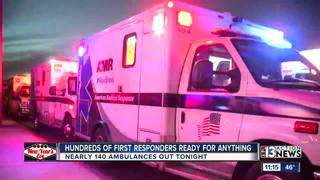 First responders prepare for New Year's Eve