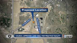Henderson moves forward on Raiders facility