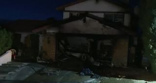 Las Vegas family loses pet, home in fire