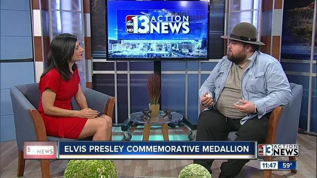Chumlee presents new Elvis commemorative coin