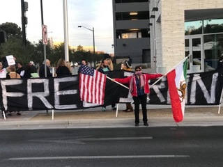 Anti-Iranian government protest held in Vegas