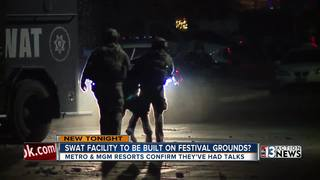 SWAT facility at 1 October site being discussed