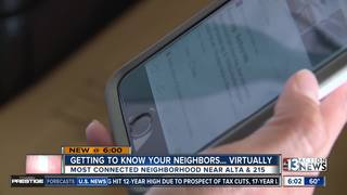 Summerlin neighborhood most popular on Nextdoor