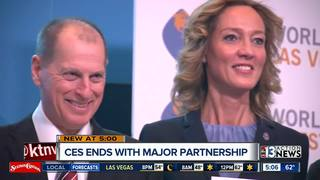 CES ends with international business agreement