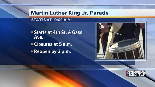 Martin Luther King event is Monday