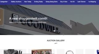 Goodwill website to allow online auctions