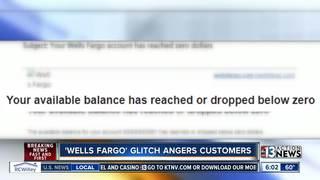 Wells Fargo error puts some customers in the red