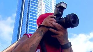 Photographer helping 1 October victims heal