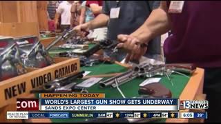 World's largest gun show kicks off in Las Vegas