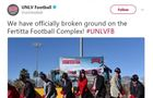 UNLV breaks ground on Fertitta Football Complex