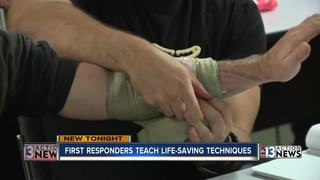 Stop the Bleed classes full after mass shooting