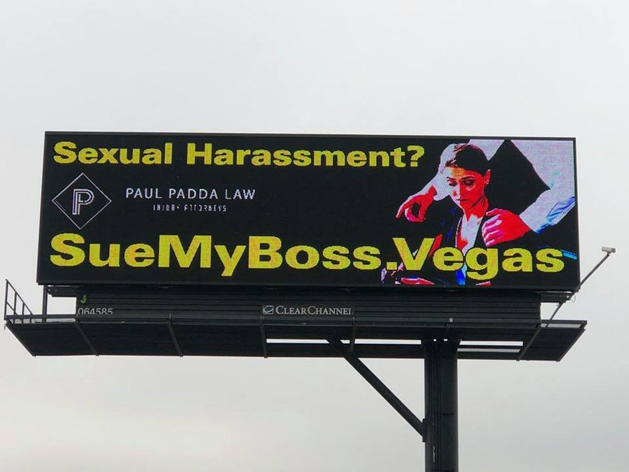Sexual harassment lawyers las vegas