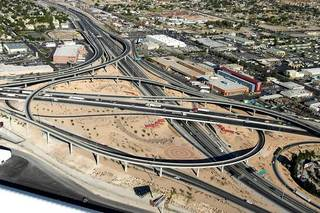 Ramp in Spaghetti Bowl to be closed overnight