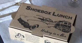 Michigan restaurant serving meals in shoeboxes