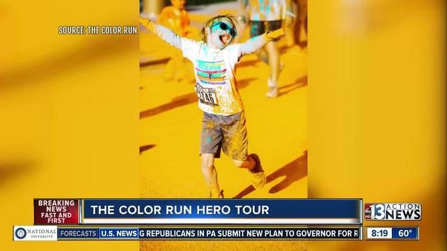 The Color Run Hero Tour teams with Three Square Food Bank