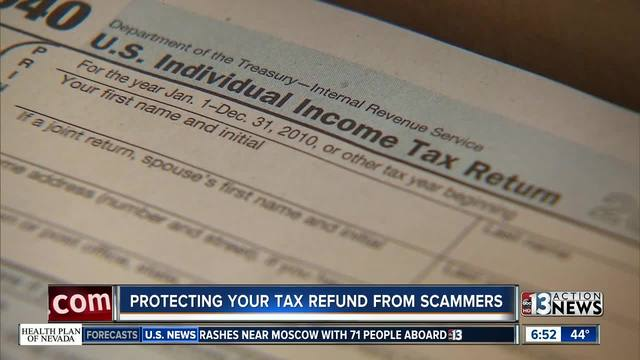 Protecting your tax refund from scammers