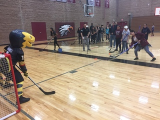 VGK, CCSD announce middle school hockey program