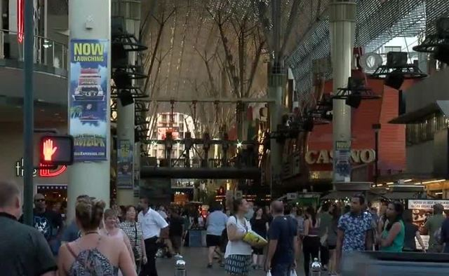 Fremont Street video canopy getting an upgrade
