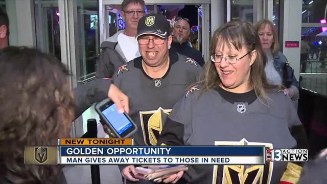 Vegas Wish aims to get fans to Golden Knights games